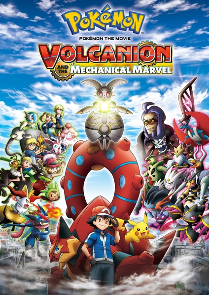 Pokémon Movie 19 - Volcanion dan Mekanik Ajaib Magearna
