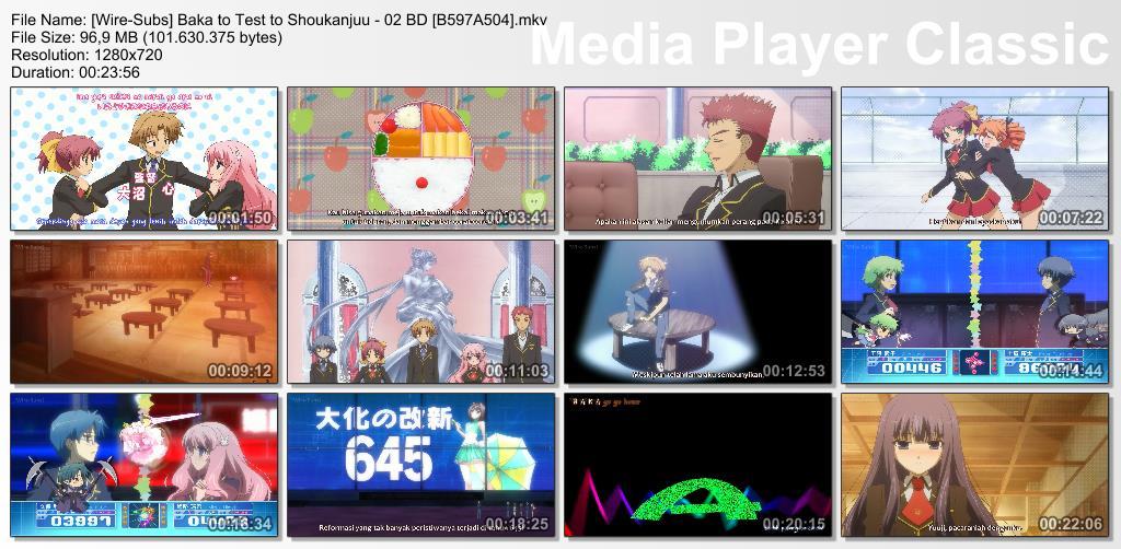 Baka to Test to Shoukanjuu 2 BD