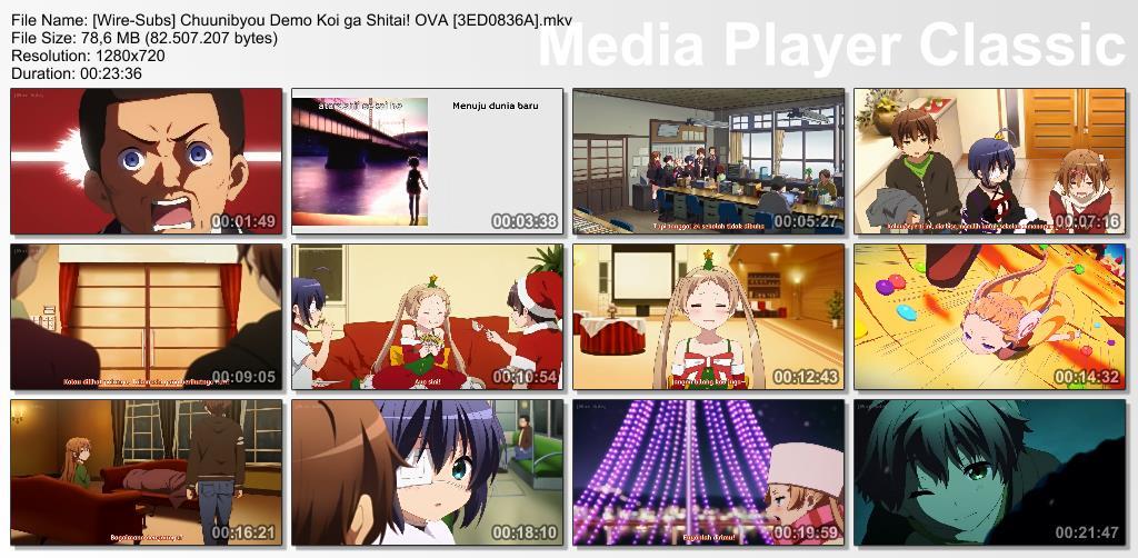 Chuunibyou demo Koi ga Shitai! Episode 13