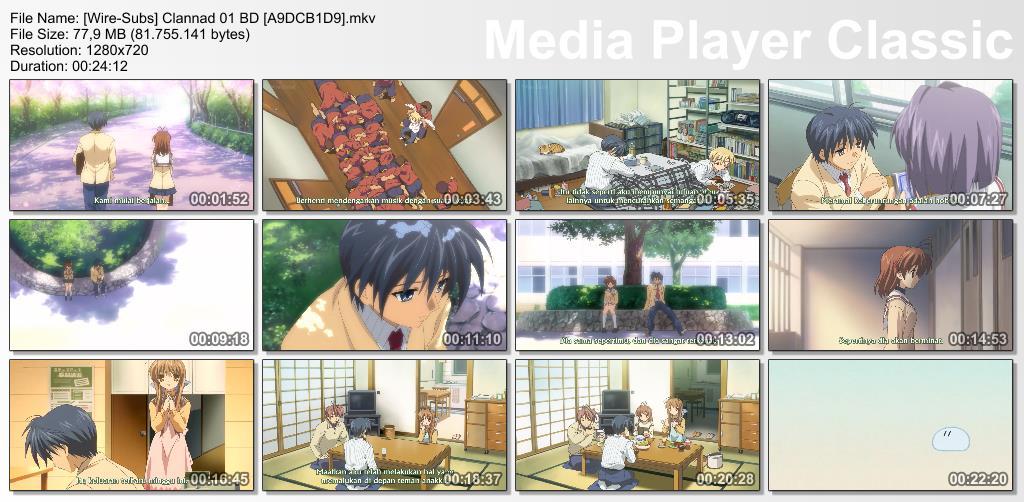 Clannad - 01 Subtitle Indonesia