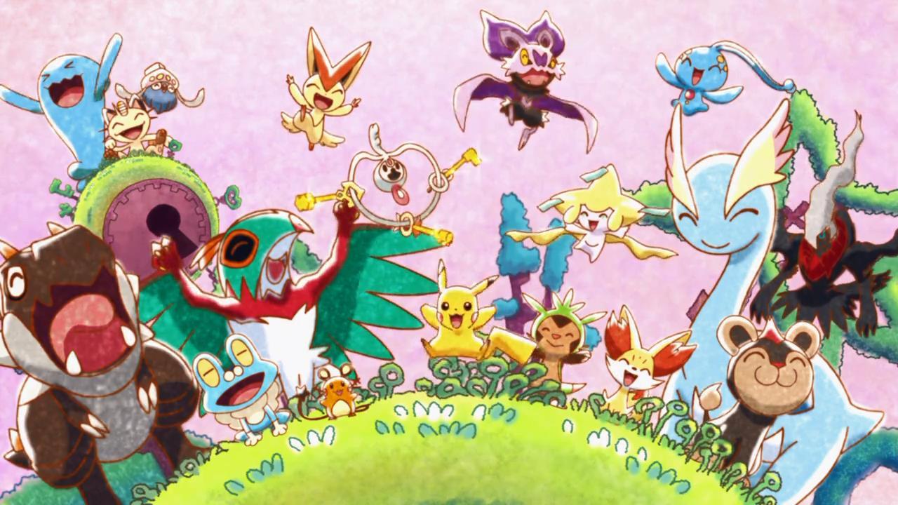 Pokémon XY Movie 1 Short - Pikachu, Kunci Apakah Ini?