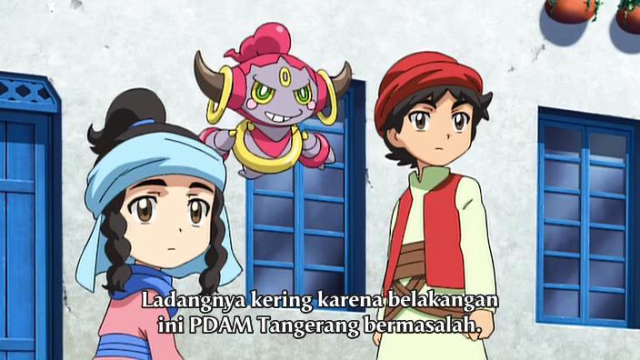 Pokémon XY: Odemashi Shou Majin Hoopa Subtitle Bahasa Indonesia